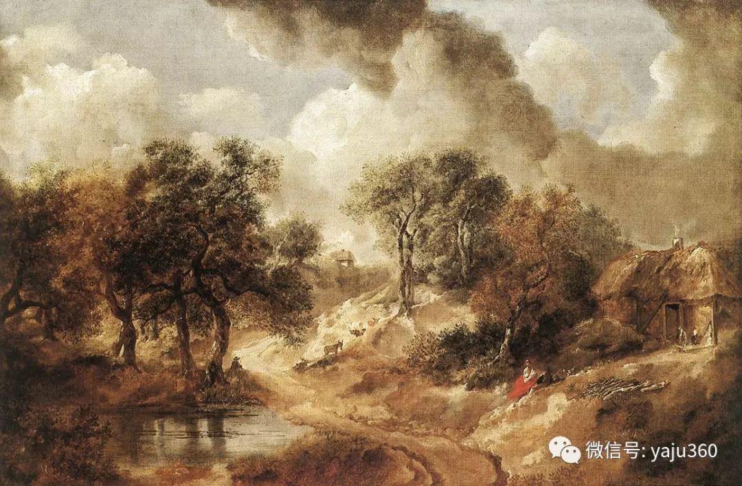 最早描绘英国乡村风景的画家 庚斯博罗插图27