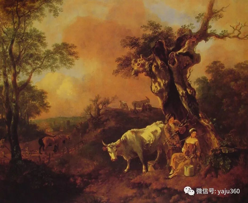 最早描绘英国乡村风景的画家 庚斯博罗插图45