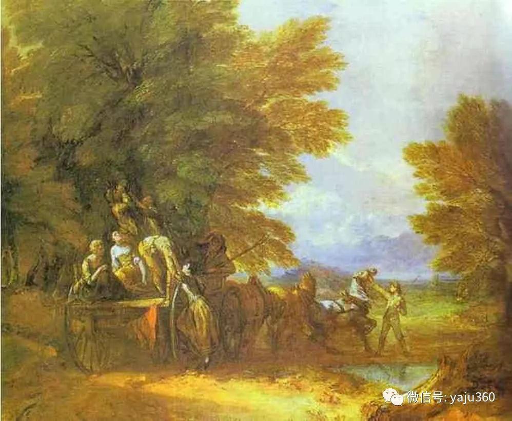最早描绘英国乡村风景的画家 庚斯博罗插图81