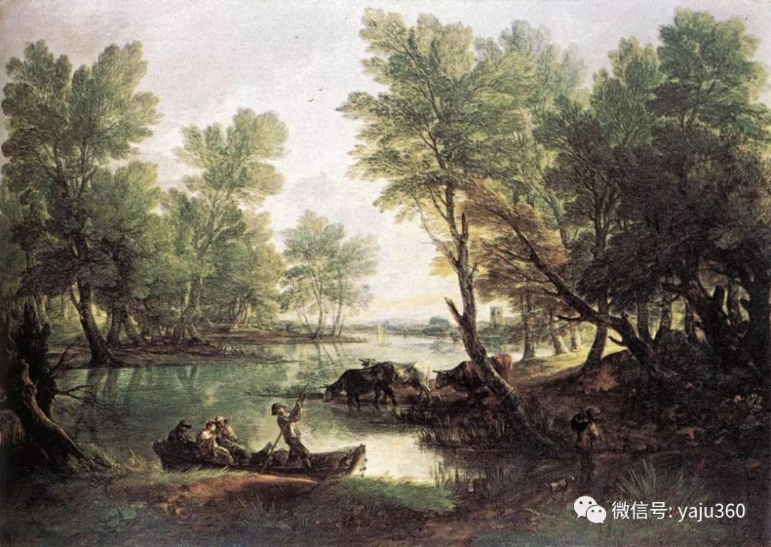 最早描绘英国乡村风景的画家 庚斯博罗插图103