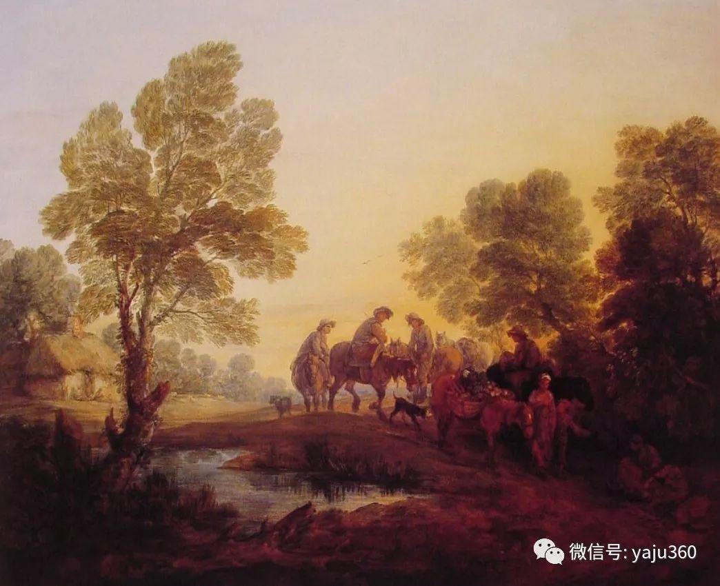 最早描绘英国乡村风景的画家 庚斯博罗插图107