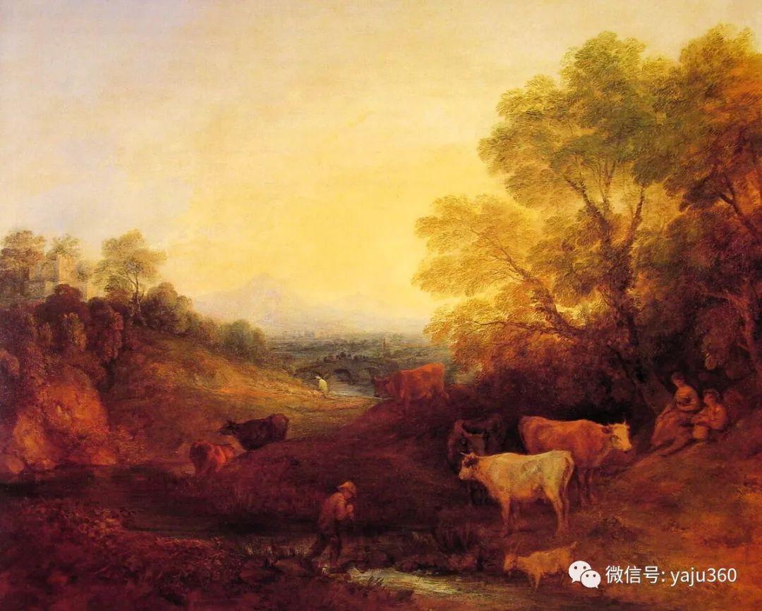 最早描绘英国乡村风景的画家 庚斯博罗插图113