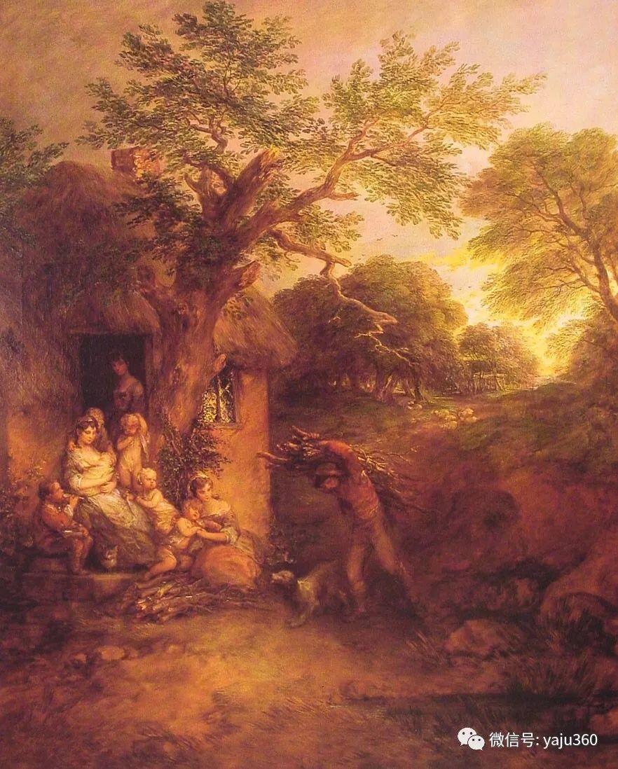 最早描绘英国乡村风景的画家 庚斯博罗插图115