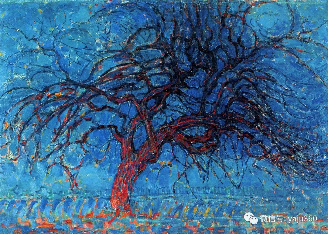 抽象风格派  荷兰画家Piet Mondrian插图3