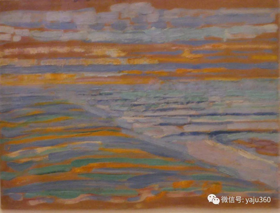 抽象风格派  荷兰画家Piet Mondrian插图5