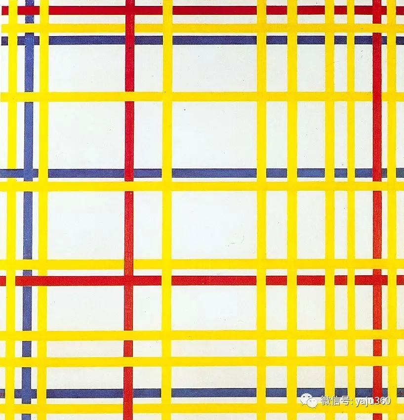 抽象风格派  荷兰画家Piet Mondrian插图9