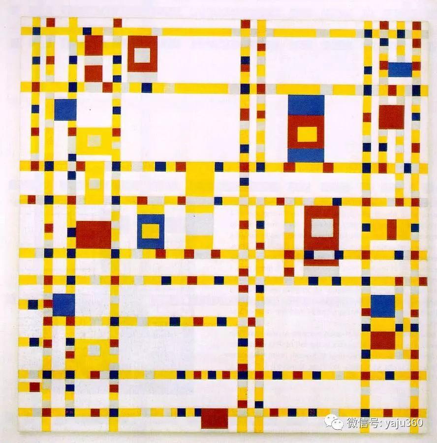 抽象风格派  荷兰画家Piet Mondrian插图11