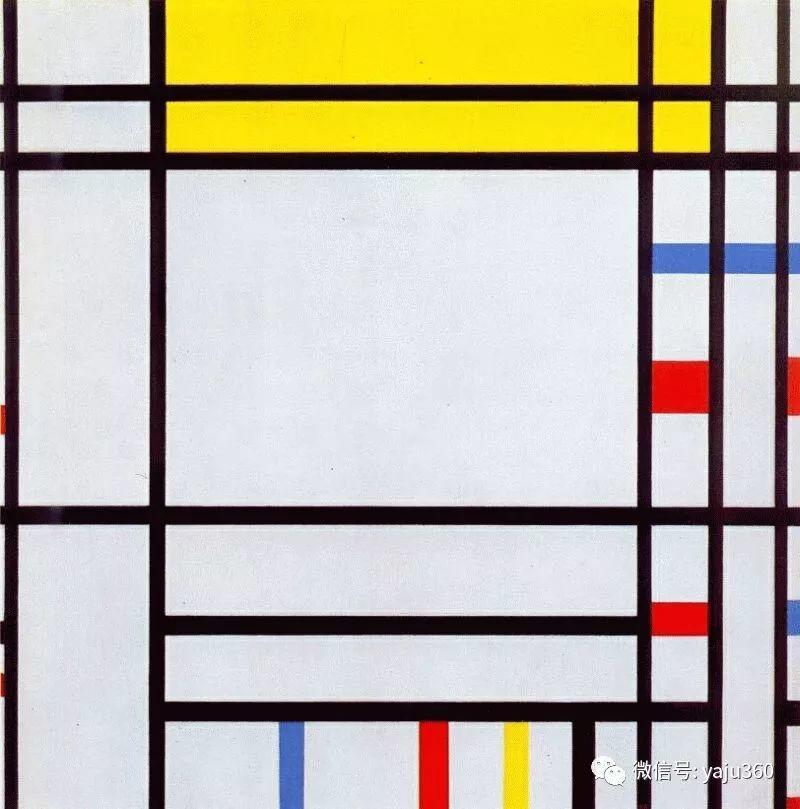抽象风格派  荷兰画家Piet Mondrian插图13