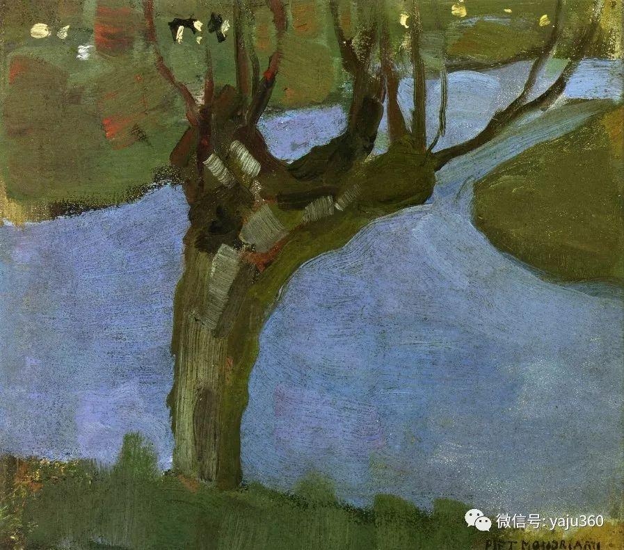 抽象风格派  荷兰画家Piet Mondrian插图19