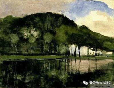 抽象风格派  荷兰画家Piet Mondrian插图21