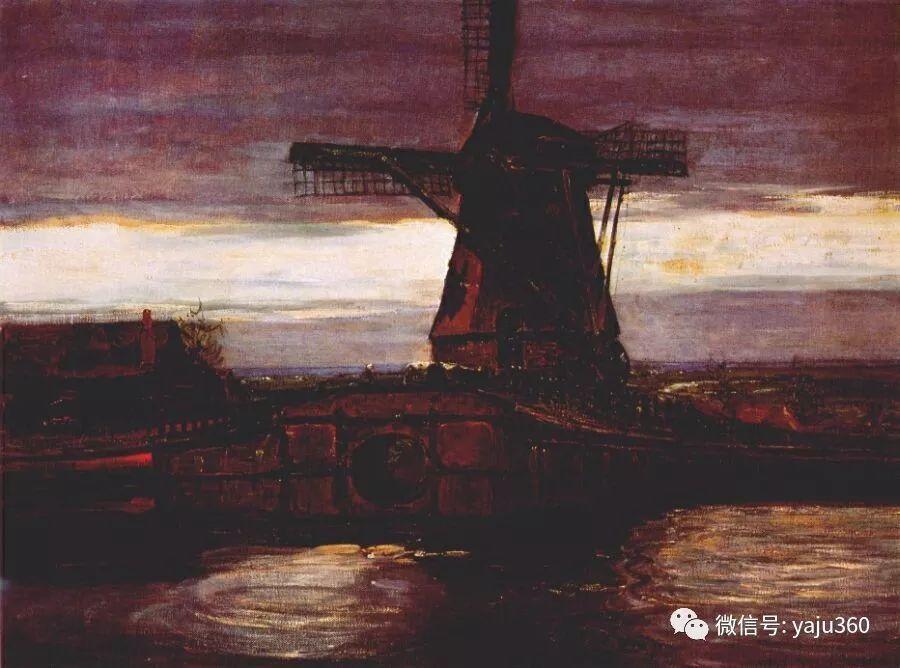 抽象风格派  荷兰画家Piet Mondrian插图25