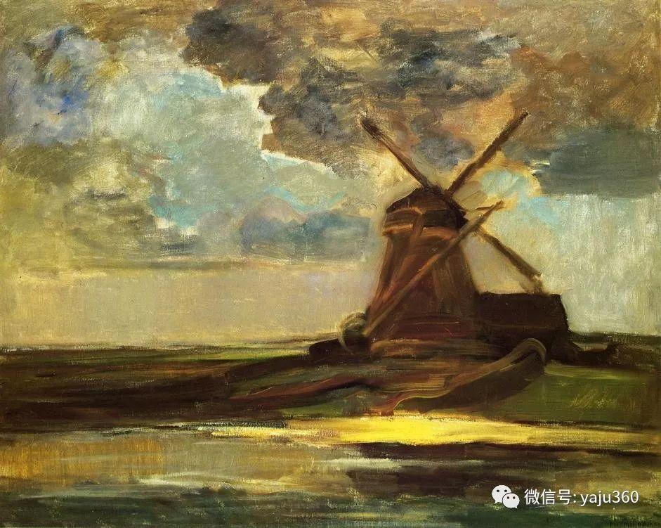 抽象风格派  荷兰画家Piet Mondrian插图33
