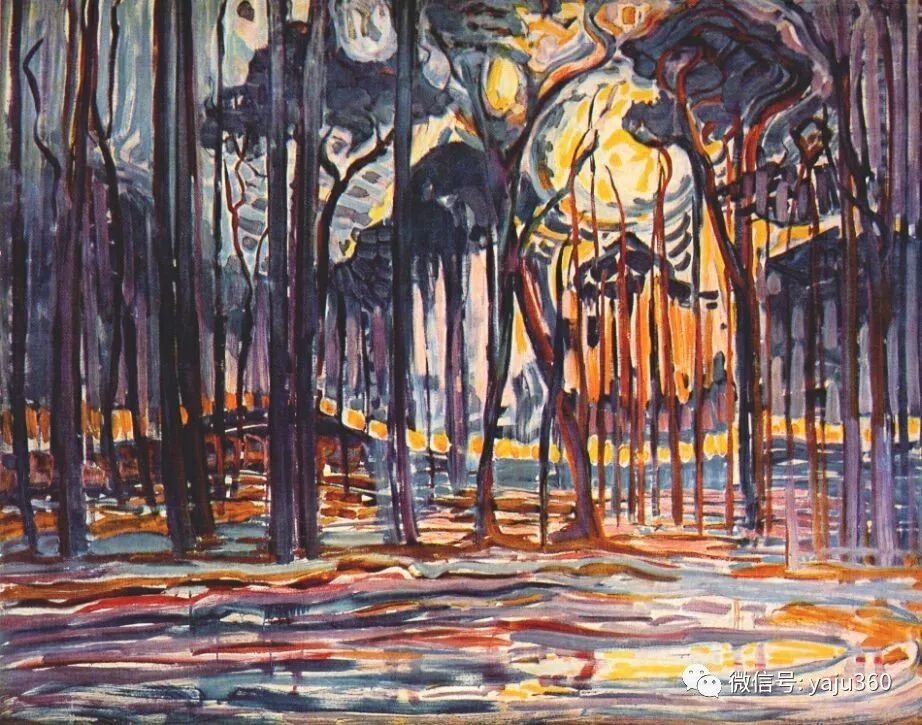 抽象风格派  荷兰画家Piet Mondrian插图35