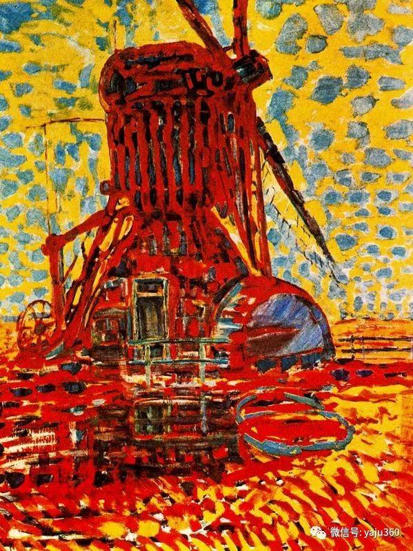 抽象风格派  荷兰画家Piet Mondrian插图37