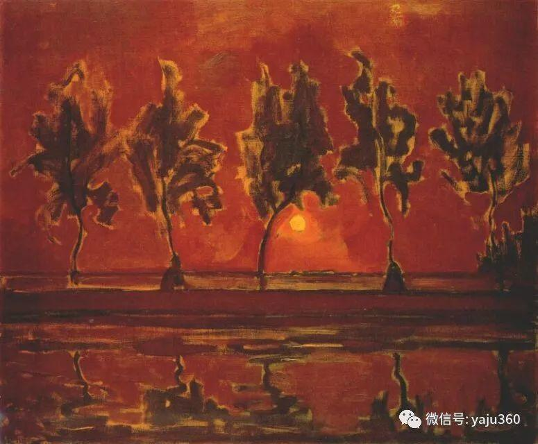 抽象风格派  荷兰画家Piet Mondrian插图41