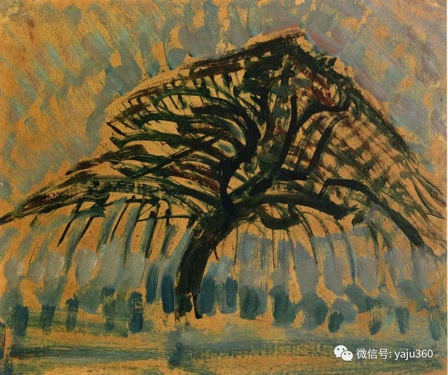 抽象风格派  荷兰画家Piet Mondrian插图43