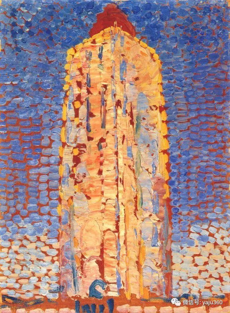 抽象风格派  荷兰画家Piet Mondrian插图45