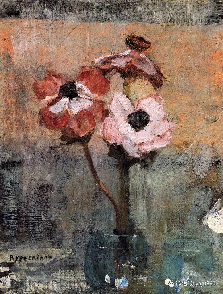 抽象风格派  荷兰画家Piet Mondrian插图47