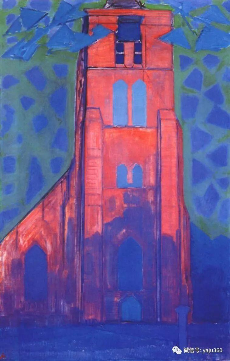 抽象风格派  荷兰画家Piet Mondrian插图51
