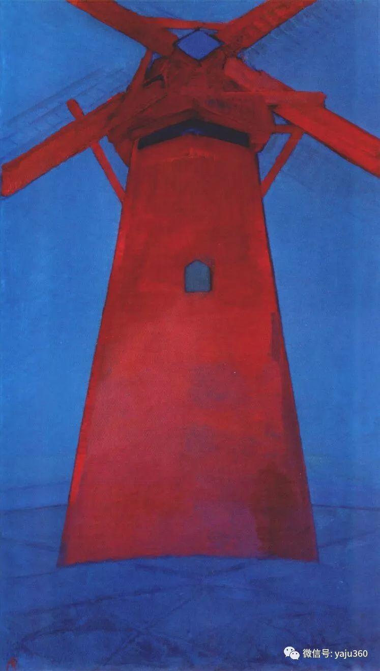 抽象风格派  荷兰画家Piet Mondrian插图59