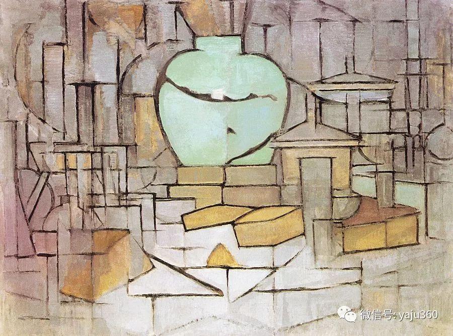 抽象风格派  荷兰画家Piet Mondrian插图61