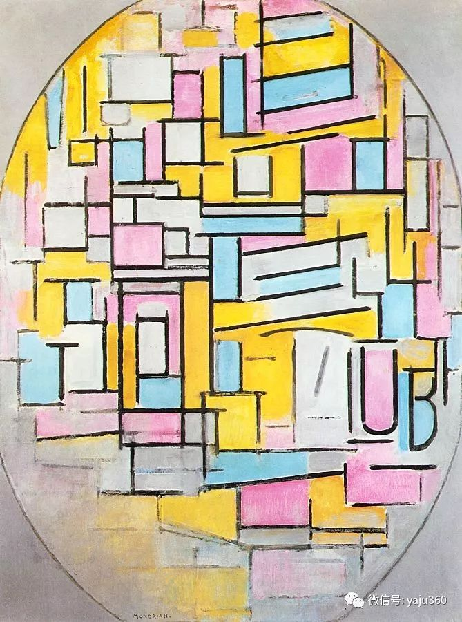 抽象风格派  荷兰画家Piet Mondrian插图63