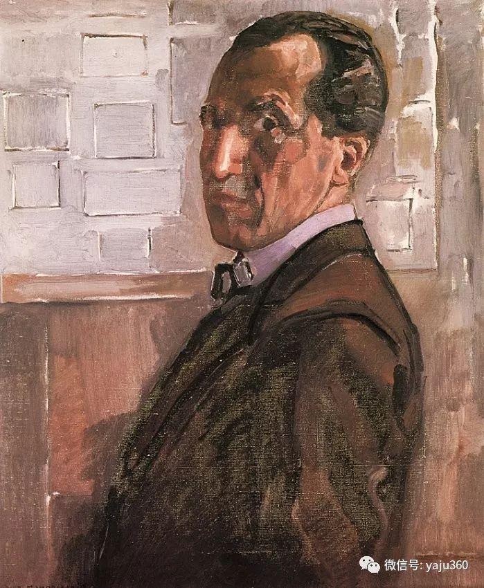 抽象风格派  荷兰画家Piet Mondrian插图65