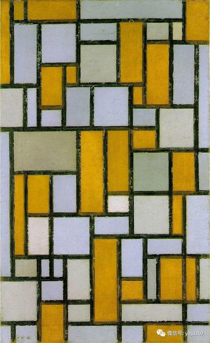 抽象风格派  荷兰画家Piet Mondrian插图67