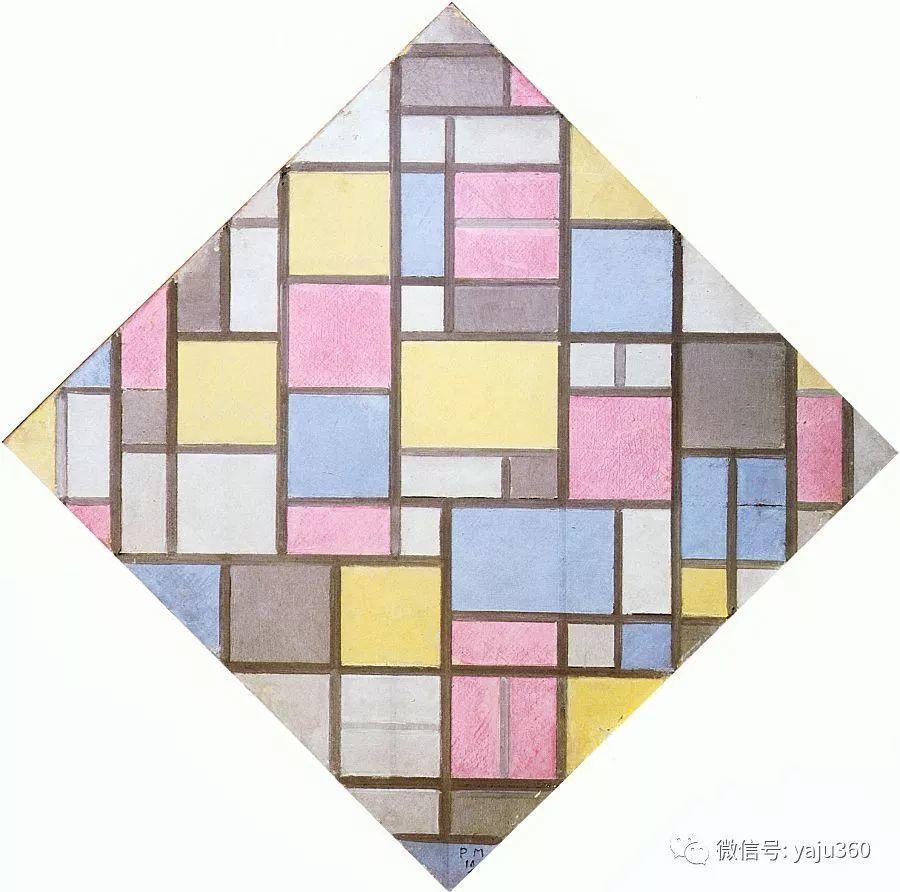 抽象风格派  荷兰画家Piet Mondrian插图71
