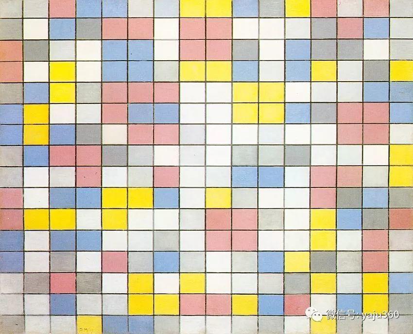 抽象风格派  荷兰画家Piet Mondrian插图73