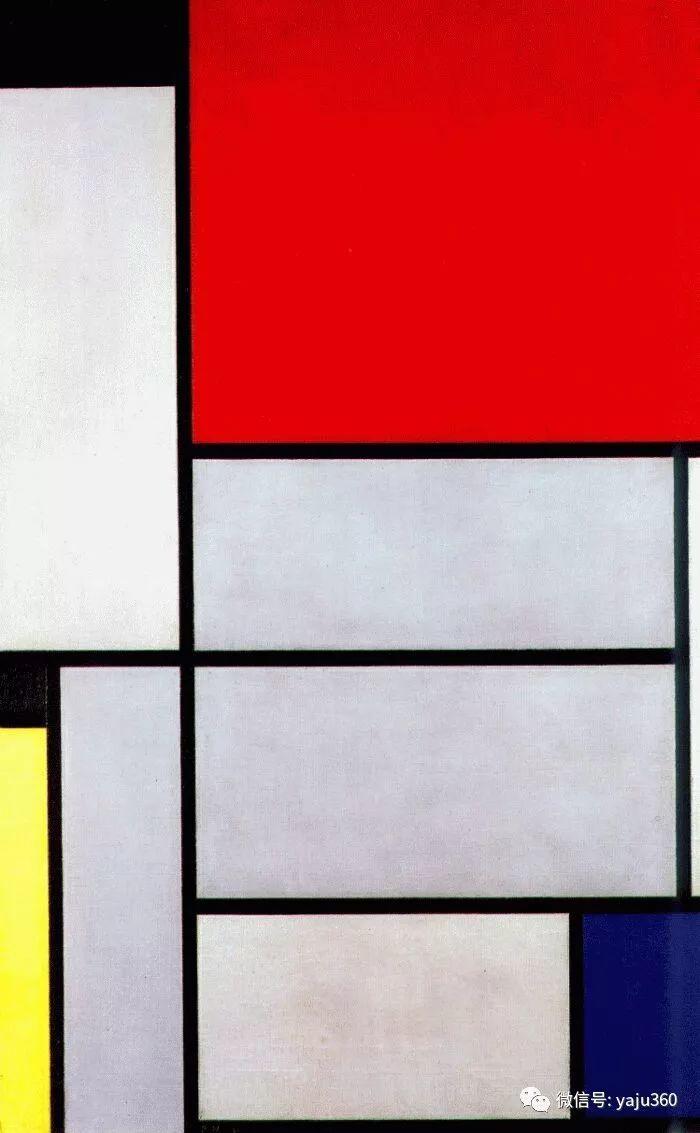 抽象风格派  荷兰画家Piet Mondrian插图75