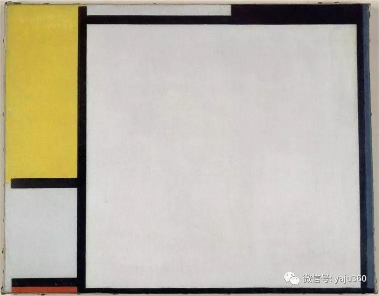 抽象风格派  荷兰画家Piet Mondrian插图77