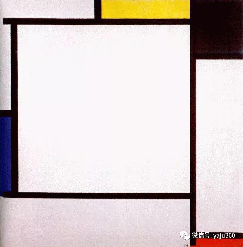 抽象风格派  荷兰画家Piet Mondrian插图79