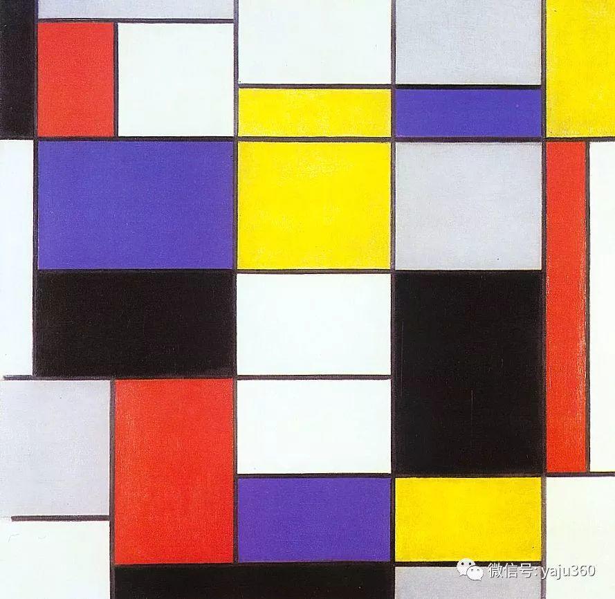 抽象风格派  荷兰画家Piet Mondrian插图81