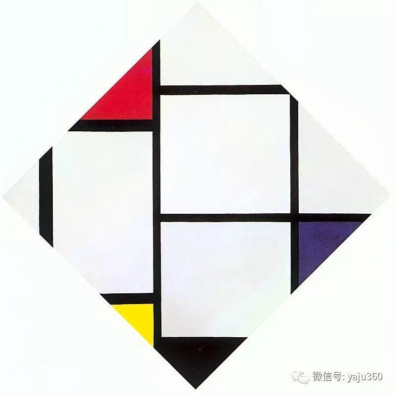 抽象风格派  荷兰画家Piet Mondrian插图83