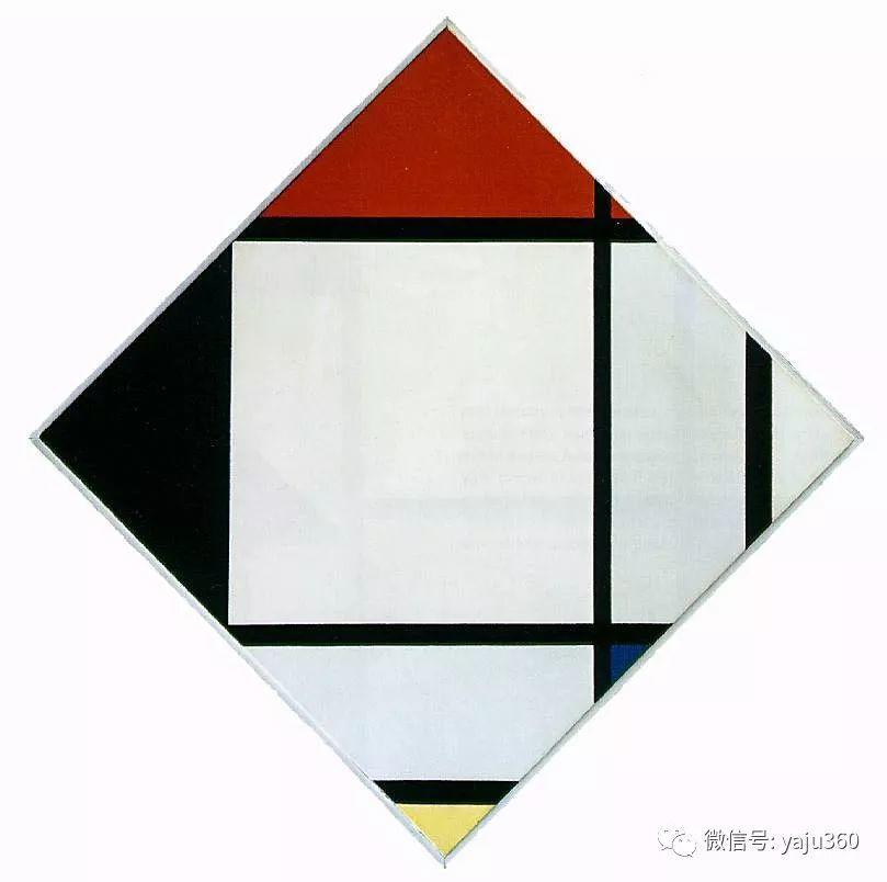 抽象风格派  荷兰画家Piet Mondrian插图85