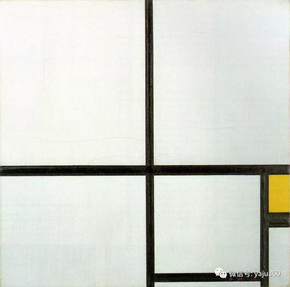 抽象风格派  荷兰画家Piet Mondrian插图87