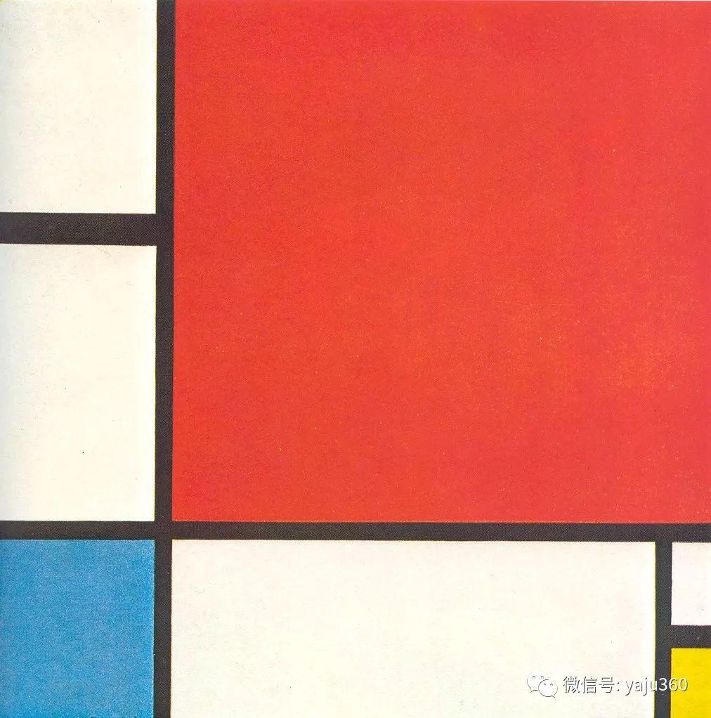 抽象风格派  荷兰画家Piet Mondrian插图89