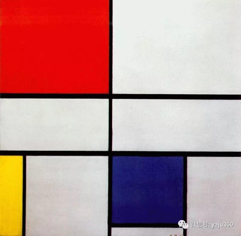 抽象风格派  荷兰画家Piet Mondrian插图91