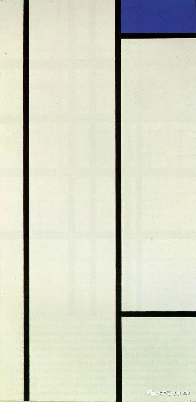 抽象风格派  荷兰画家Piet Mondrian插图93