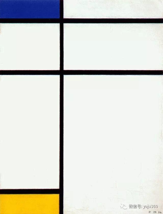 抽象风格派  荷兰画家Piet Mondrian插图95
