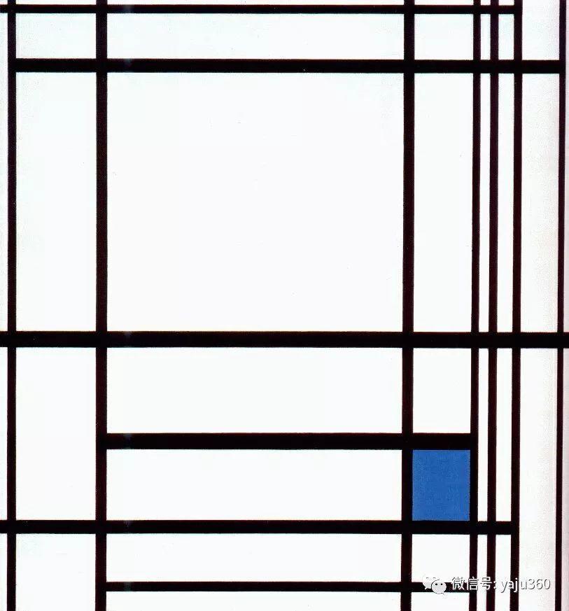 抽象风格派  荷兰画家Piet Mondrian插图97