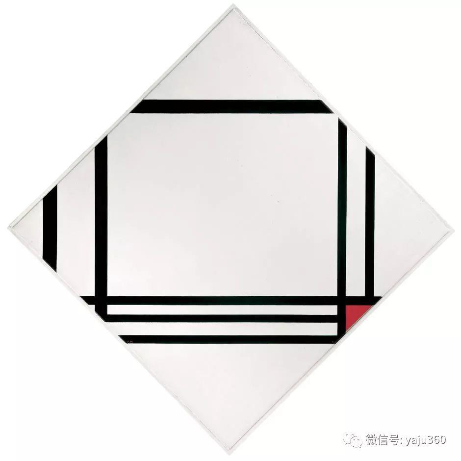 抽象风格派  荷兰画家Piet Mondrian插图99