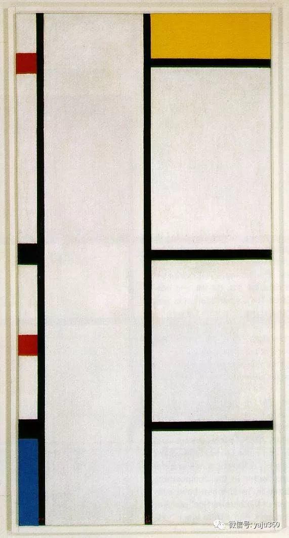 抽象风格派  荷兰画家Piet Mondrian插图101
