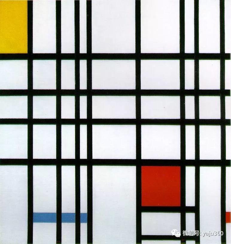 抽象风格派  荷兰画家Piet Mondrian插图103