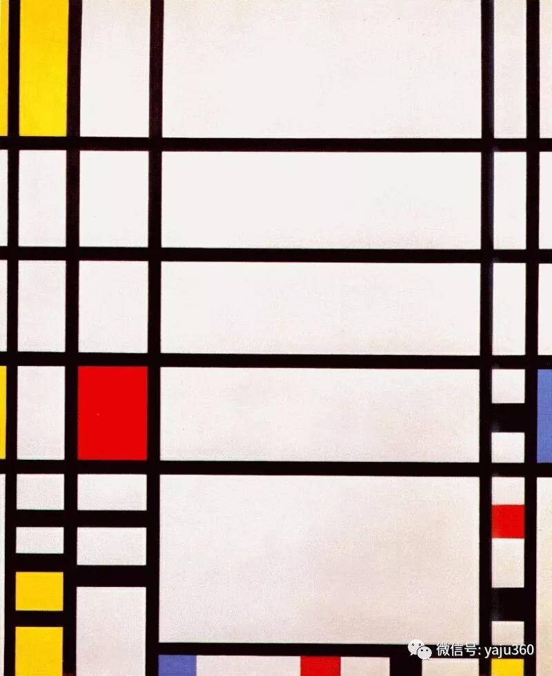 抽象风格派  荷兰画家Piet Mondrian插图105