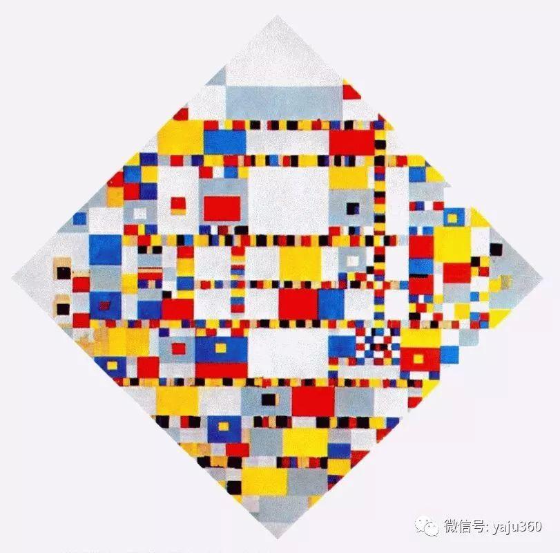 抽象风格派  荷兰画家Piet Mondrian插图107