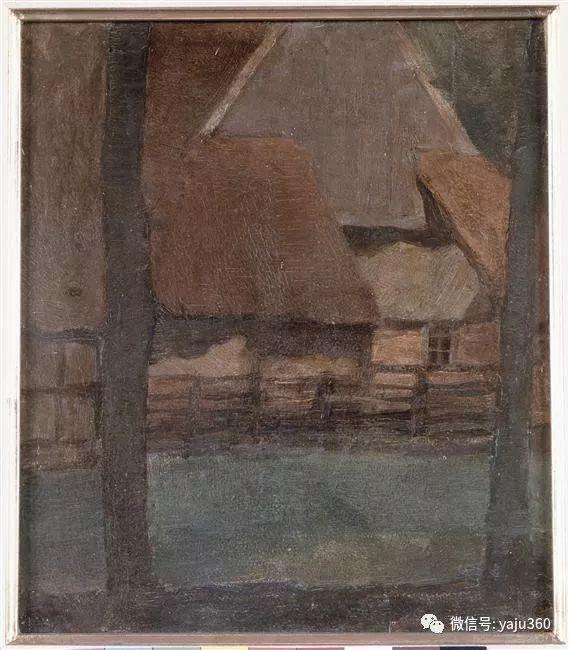 抽象风格派  荷兰画家Piet Mondrian插图109