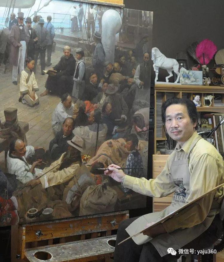 旅美华裔画家Mian Situ油画欣赏2插图1
