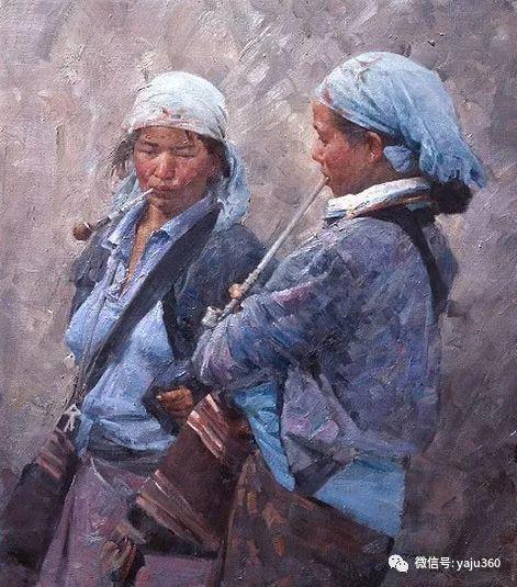 旅美华裔画家Mian Situ油画欣赏2插图11